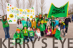 Scoil Mhuire pictured at Milltown Saint Patrick's day parade on Tuesday