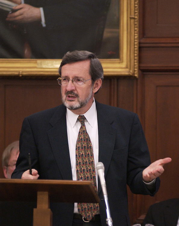 6/9/04.FISCAL 2005 APPROPRIATIONS--Ranking Democrat David R. Obey, D-Wis., during the House Appropriations markup of Homeland Security bill. .CONGRESSIONAL QUARTERLY PHOTO BY SCOTT J. FERRELL