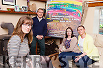 Locals in the Listowel and Duagh areas are rallying to support the family of mother-of-nine Bernie Cudlipp who died unexpectedly in February. Pictured were: PJ Harnett, Rhiannon McNulty, Sam McElligott and Dot Stack.