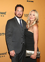 LOS ANGELES, CA - JUNE 11: Cole Hauser, Cynthia Daniel, at the premiere of Yellowstone at Paramount Studios in Los Angeles, California on June 11, 2018. <br /> CAP/MPI/FS<br /> &copy;FS/MPI/Capital Pictures