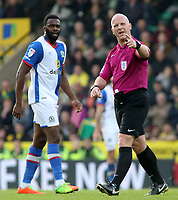 Referee Simon Hooper in action<br /> <br /> Photographer David Shipman/CameraSport<br /> <br /> The EFL Sky Bet Championship - Norwich City v Blackburn Rovers - Saturday 11th March 2017 - Carrow Road - Norwich<br /> <br /> World Copyright &copy; 2017 CameraSport. All rights reserved. 43 Linden Ave. Countesthorpe. Leicester. England. LE8 5PG - Tel: +44 (0) 116 277 4147 - admin@camerasport.com - www.camerasport.com