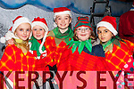 Sarah McCarthy, Aoife Cronin, Katie McCarthy, Katie Herlihy and Lucie Sendreviova at the Christmas in Killarney parade on Friday night