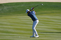 Christiaan Bezuisenhout (RSA) on the 8th during Round 1 of the Abu Dhabi HSBC Championship 2020 at the Abu Dhabi Golf Club, Abu Dhabi, United Arab Emirates. 16/01/2020<br /> Picture: Golffile | Thos Caffrey<br /> <br /> <br /> All photo usage must carry mandatory copyright credit (© Golffile | Thos Caffrey