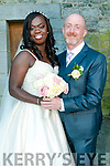 Dorcas Asufu, New York & Jim Murphy,son of Stevie & Bridie Murphy, Templeglantine who were married in Templglantine Church by Fr. Denis Mullane On Saturday last. Best Man was Stephen Murphy & the bridesmaid was Lisa Hunt. The flowergirls wer  Caoimhe & Amelia Galvin &  Sadie & Millie Ryan. The reception was held in the Listowel Arms Hotel and the couple will live in New York.