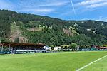 06.07.2019, Parkstadion, Zell am Ziller, AUT, TL Werder Bremen - Tag 03<br /> <br /> im Bild / picture shows <br /> <br /> Zuschauertribuene auch in diesem Jahr gut gefuellt vonn den Werder Fans<br /> <br /> <br /> Foto © nordphoto / Kokenge