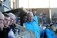 Woking Assistant Manager, Martin Tyler, looks on during Dartford vs Woking, Vanarama National League South Football at Princes Park on 23rd February 2019