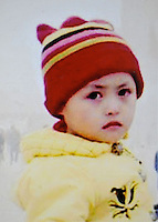Xiao Tingting (4), born in Jan 200. Missing at Beijing West Train Station Ticket Hall on 06 March 2007.   Girls in China are increasingly targeted and stolen as there is a shortage of wives as the gender imbalance widens with 120 boys for every 100 girls..PHOTO BY SINOPIX