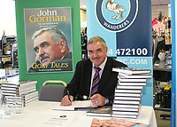 Former Wycombe Wanderers Manager, John Gorman, returns to the Club to sign copies of his autobiography Gory Tales during Wycombe Wanderers vs Dagenham & Redbridge, Coca Cola League Division Two Football at Adams Park on 20th September 2008