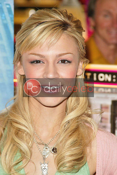"""Samaire Armstrong<br />at an in store appearance to promote their new movie """"Just My Luck"""". Saphora Salon, Hollywood, CA. 04-29-06<br />Jason Kirk/DailyCeleb.com 818-249-4998"""
