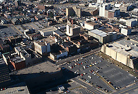 1995 February 23..Redevelopment.Tidewater Community College..LOOKING WEST OVER MARKET STREET..NEG#.NRHA#..