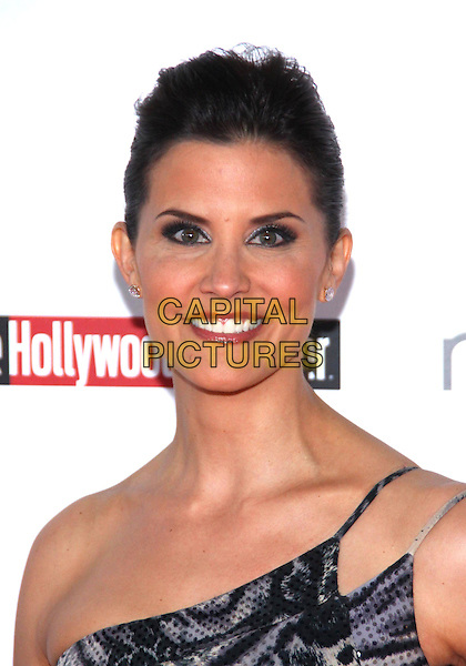 LU PARKER .The Hollywood  Reporter Honoring Oscar Nominees  held at The Getty House,  Los Angeles, California, USA, 5th March 2010..portrait headshot smiling hair up one shoulder make-up .CAP/ADM/TC.©T. Conrad/AdMedia/Capital Pictures.