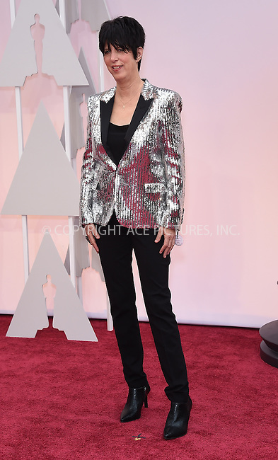 WWW.ACEPIXS.COM<br /> <br /> February 22 2015, LA<br /> <br /> Diane Warren arriving at the 87th Annual Academy Awards at the Hollywood &amp; Highland Center on February 22, 2015 in Hollywood, California.<br /> <br /> By Line: Z15/ACE Pictures<br /> <br /> <br /> ACE Pictures, Inc.<br /> tel: 646 769 0430<br /> Email: info@acepixs.com<br /> www.acepixs.com
