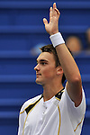 SHANGHAI, CHINA - OCTOBER 11: Andreas Beck of Germany acknowledges to the crowd after his match against Jose Acasuso of Argentina during the day one of the 2009 Shanghai ATP Masters 1000 at the Qi Zhong Tennis Centre in Shanghai. Photo by Victor Fraile / The Power of Sport Images