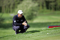 Padraig Harrington lines up his chip on the 10th green on during the third round of the Irish Open on 19th of May 2007 at the Adare Manor Hotel & Golf Resort, Co. Limerick, Ireland. (Photo by Eoin Clarke/NEWSFILE)...