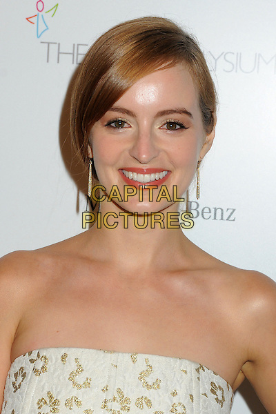 11 January 2014 - Los Angeles, California - Ahna O'Reilly. 7th Annual Art of Elysium Heaven Gala held at the Skirball Cultural Center.  <br /> CAP/ADM/BP<br /> &copy;Byron Purvis/AdMedia/Capital Pictures
