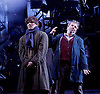 As You Like It <br /> by William Shakespeare<br /> at The Olivier Theatre, London, Great Britain <br /> press photocall<br /> 30th October 2015 <br /> <br /> <br /> <br /> Fra Fee as Amiens <br /> <br /> Paul Chahidi as Jaques <br /> <br /> Photograph by Elliott Franks <br /> Image licensed to Elliott Franks Photography Services