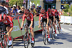Team Sunweb recon Stage 1 of La Vuelta 2019, a team time trial running 13.4km from Salinas de Torrevieja to Torrevieja, Spain. 24th August 2019.<br /> Picture: Eoin Clarke | Cyclefile<br /> <br /> All photos usage must carry mandatory copyright credit (© Cyclefile | Eoin Clarke)
