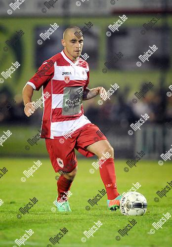 2014-09-06 / Voetbal / seizoen 2014-2015 / Dessel Sport - R. Antwerp FC / Anthony Di Lallo<br /><br />Foto: Mpics.be
