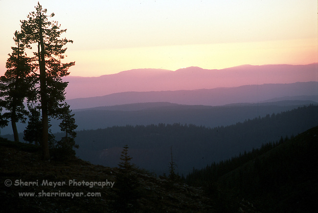 Sunset from Grouse Ridge