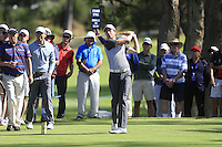 during Round 1 of the ISPS HANDA Perth International at the Lake Karrinyup Country Club on Thursday 23rd October 2014.<br /> Picture:  Thos Caffrey / www.golffile.ie