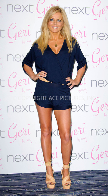 WWW.ACEPIXS.COM . . . . .  ....January 28 2011, London....Geri Halliwell launches her new swimwear collection for Next at The Savoy Hotel on January 28, 2011 in London..... . . . . US SALES ONLY . . . . .....Please byline: FAMOUS-ACE PICTURES... . . . .  ....Ace Pictures, Inc:  ..Tel: (212) 243-8787..e-mail: info@acepixs.com..web: http://www.acepixs.com