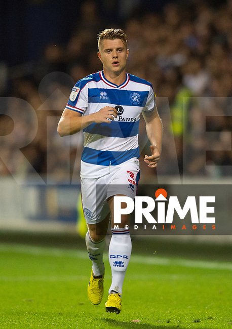 QPR Jake Bidwell during the Sky Bet Championship match between Queens Park Rangers and Millwall at Loftus Road Stadium, London, England on 19 September 2018. Photo by Andrew Aleksiejczuk / PRiME Media Images.