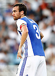 Real Sociedad's Mikel Gonzalez during La Liga match. August 21,2016. (ALTERPHOTOS/Acero)