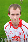 Darren O'Riordan member of the Saint Brendans Ardfert Hurling squad,