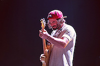 Angus Stone of The Australian brother / sister group Angus and Julia Stone performs during Roma Incontra Il Mondo festival at Villa Ada, Rome, Italy, on 1 July 2015.<br /> Photo by Valeria Magri