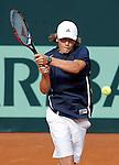 USA's Patrick Kypson during Junior Davis Cup 2015 match. September  30, 2015.(ALTERPHOTOS/Acero)