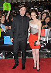 "Robert Pattinson & Kristen Stewart at Summit Entertainment's highly anticipated Premiere of ""Twilight"" held at The Mann's Village Theatre in Westwood, California on November 17,2008                                                                     Copyright 2008 Debbie VanStory/RockinExposures"