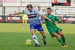 2018-07-04 / Voetbal / seizoen 2018 -2019 / KSK Heist - Lommel SK / Bart Webers (l.KSK Heist) met Laurens Vermijl ,Foto: Mpics.be