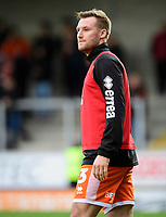 Blackpool's Nick Anderton during the pre-match warm-up<br /> <br /> Photographer Chris Vaughan/CameraSport<br /> <br /> The EFL Sky Bet League One - Burton Albion v Blackpool - Saturday 16th March 2019 - Pirelli Stadium - Burton upon Trent<br /> <br /> World Copyright &copy; 2019 CameraSport. All rights reserved. 43 Linden Ave. Countesthorpe. Leicester. England. LE8 5PG - Tel: +44 (0) 116 277 4147 - admin@camerasport.com - www.camerasport.com