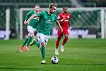 Johannes Eggestein (SV Werder Bremen #24) am Ball<br /> <br /> Sport: Fussball: 1. Bundesliga: Saison 19/20: <br /> 26. Spieltag: SV Werder Bremen vs Bayer 04 Leverkusen, 18.05.2020<br /> <br /> Foto ©  gumzmedia / Nordphoto / Andreas Gumz / POOL <br /> <br /> Nur für journalistische Zwecke! Only for editorial use!<br />  DFL regulations prohibit any use of photographs as image sequences and/or quasi-video.