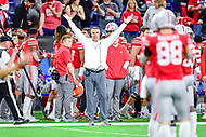 Indianapolis, IN - DEC 1, 2018: Ohio State Buckeyes head coach Urban Meyer on the sidelines during second half action of the Big Ten Championship game between Northwestern and Ohio State at Lucas Oil Stadium in Indianapolis, IN. Ohio State defeated Northwestern 45-24. (Photo by Phillip Peters/Media Images International)