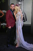 29 November 2018 - Las Vegas, NV - Austin Dillon, Whitney Dillon. 2018 Monster Energy NASCAR Awards Red Carpet at Wynn Las Vegas.     <br /> CAP/ADM/MJT<br /> &copy; MJT/ADM/Capital Pictures