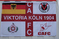 Carshalton flag ahead of Carshalton Athletic vs Boston United, Emirates FA Cup Football at the War Memorial Sports Ground on 9th November 2019