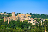 Italy, Emilia-Romagna, Bobbiano: town in Province Piacenza, also known for its Visconti Castle | Italien, Emilia-Romagna, Castell'Arquato: Gemeinde in der Provinz Piacenza mit dem Castel Visconti