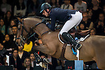 Julien Epaillard of France rides Cristallo A LM in action at the Longines Grand Prix during the Longines Hong Kong Masters 2015 at the AsiaWorld Expo on 15 February 2015 in Hong Kong, China. Photo by Juan Flor / Power Sport Images