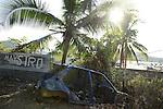 Bidonville de la vigie, Labattoir, Mayotte, octobre 2016.