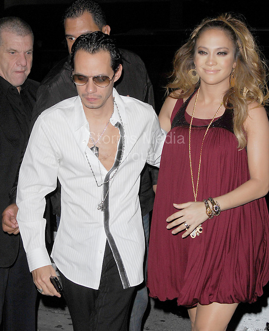 SMG_Jennifer Lopez_Marc Anthony_Break Up_071811_155.JPG<br /> <br /> MIAMI BEACH, FL - JULY 16: (Us Weekly) Jenny's back on the singles block.  After seven years of marriage, Jennifer Lopez and Marc Anthony have split, their rep tells Us Weekly. &quot;We have decided to end our marriage. This was a very difficult decision. We have come to an amicable conclusion on all matters,&quot; they said in a statement. &quot;It is a painful time for all involved, and we appreciate the respect of our privacy at this time. The couple are parents to three-year-old twins Max and Emme.  Crooner Anthony, 42, was conspicuously absent at Saturday's star-packed BAFTA Brits to Watch bash in L.A., where wife Lopez, 40, met Prince William and Duchess Kate with mom Guadalupe as her date.<br /> Friends for years, Lopez and Anthony dated briefly in the 1990s. They stepped out again as a couple in early 2004, shortly after Lopez's broken engagement from Ben Affleck, and in the midst of Anthony's divorce from first wife, former Miss Universe Dayanara Torres. They wed at a quiet home wedding in June 2004.<br /> Just last year, they renewed their wedding vows for their sixth anniversary at their Hidden Hills, Calif. estate June 5. &quot;We realized the bets in Vegas [on whether we'd make it] stopped at five years,&quot; Anthony joked to Us at the time.   And as recently as January, singer, actress and American Idol judge Lopez gushed on the Ellen DeGeneres Show about being a parent with Anthony. &quot;As soon as I had the babies, I thought to myself, 'I want to do this a thousand more times...I love this. This is life.&quot;<br /> Anthony and first wife Torres share sons Cristin, 10, and Ryan, 7. Lopez (who famously dated Sean Combs in addition to Affleck), had been married twice before: to restauranteur Ojani Noa (they split in 1998) and former backup dancer Cris Judd, to whom she was married from 2001 to 2003.. On July 16, 2011 in Miami Beach, Florida,  (Photo By Storms Media Group)<br />  <br /> People:   Jennifer Lopez_Marc Anthony<br /> <br /> Must call if interested<br /> Michael St