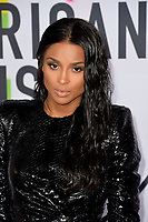 Ciara at the 2017 American Music Awards at the Microsoft Theatre LA Live, Los Angeles, USA 19 Nov. 2017<br /> Picture: Paul Smith/Featureflash/SilverHub 0208 004 5359 sales@silverhubmedia.com