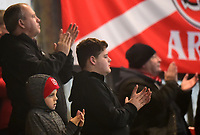 Fleetwood Town fans show their support<br /> <br /> Photographer Richard Martin-Roberts/CameraSport<br /> <br /> The EFL Sky Bet League One - Fleetwood Town v Doncaster Rovers - Wednesday 26th December 2018 - Highbury Stadium - Fleetwood<br /> <br /> World Copyright &not;&copy; 2018 CameraSport. All rights reserved. 43 Linden Ave. Countesthorpe. Leicester. England. LE8 5PG - Tel: +44 (0) 116 277 4147 - admin@camerasport.com - www.camerasport.com