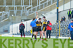 Mike McCarthy Currow is sent off in the O'Donoghue cup semi final in Fitzgerald Stadium on Sunday