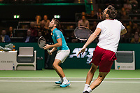 Rotterdam, The Netherlands, 16 Februari 2019, ABNAMRO World Tennis Tournament, Ahoy, Semis, Doubles, Marcel Granollers (ESP) Nikola Mektic (CRO),<br /> Photo: www.tennisimages.com/Henk Koster