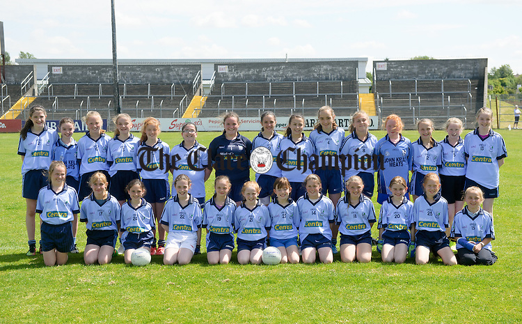 Kildysart NS-20150615-007 at the Clare Primary Schools Ladies Football finals in Cusack park. Photograph by John Kelly.