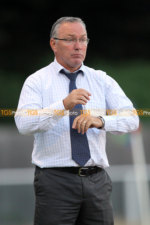 Boreham Wood manager Ian Allinson - AFC Hornchurch vs Boreham Wood - Blue Square Conference South Football at The Stadium, Upminster Bridge, Essex - 21/08/12 - MANDATORY CREDIT: Gavin Ellis/TGSPHOTO - Self billing applies where appropriate - 0845 094 6026 - contact@tgsphoto.co.uk - NO UNPAID USE.