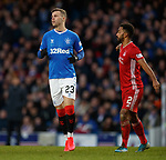01.02.2020 Rangers v Aberdeen: Florian Kamberi makes his debut for Rangers