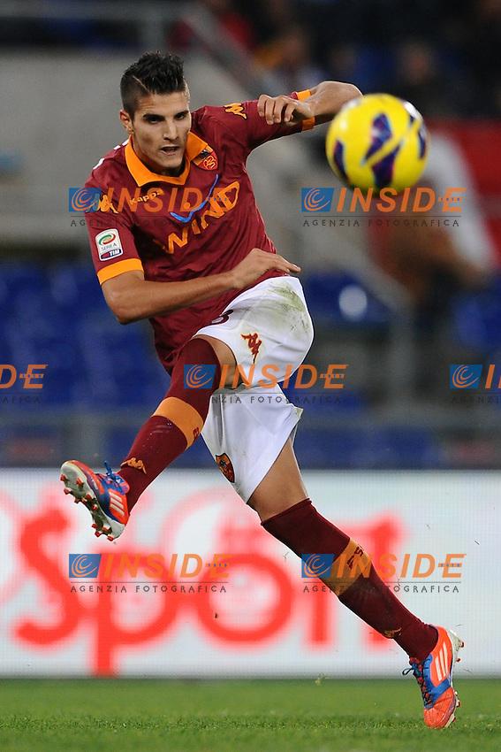 "Erik Lamela (Roma).Roma 4/11/2012 Stadio ""Olimpico"".Football Calcio 2012/2013 Serie A.Roma Vs Palermo.Foto Antonietta Baldassarre Insidefoto"