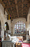 Tomb of Sir Roger Tocotes, fifteenth century chantry chapel, Church of Saint Nicholas, Bromham, Wiltshire, England, UK